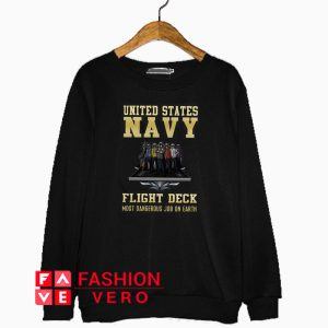 United States Navy flight deck Sweatshirt