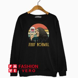 Young Frankenstein Abby normal vintage Sweatshirt