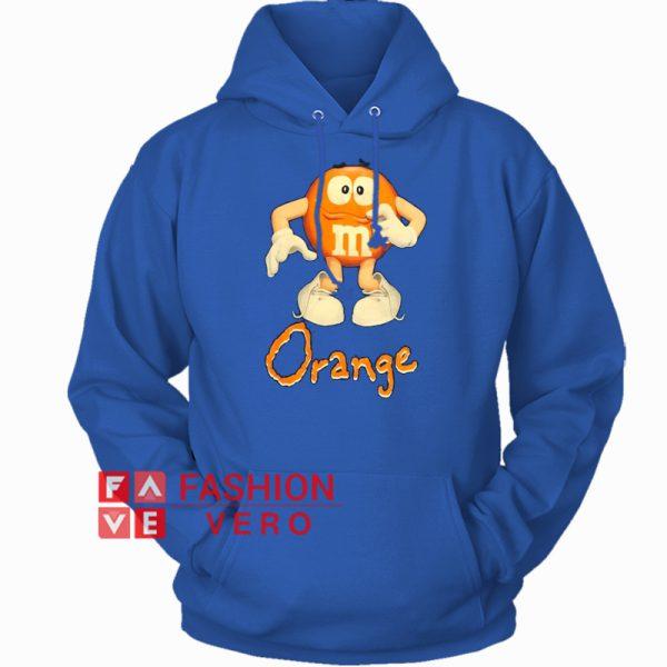 00s Orange M&M's HOODIE Unisex Adult Clothing