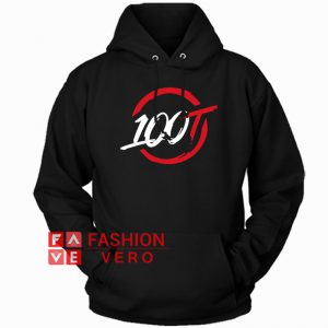 100 Thieves Circle Logo HOODIE - Unisex Adult Clothing