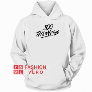 100 Thieves Logo HOODIE - Unisex Adult Clothing