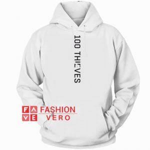 100 Thieves Vertical HOODIE - Unisex Adult Clothing