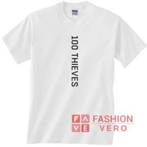 100 Thieves Vertical Unisex adult T shirt