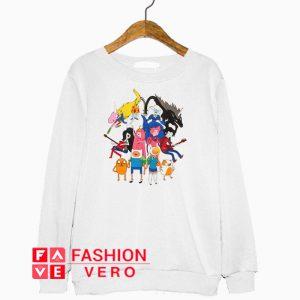 Adventure Time Mirror Counterparts Sweatshirt