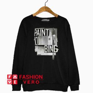 Anine Bing Paint It Sweatshirt