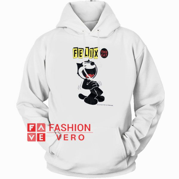 Felix The Laughing Cat HOODIE Unisex Adult Clothing