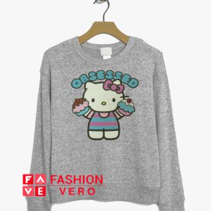 Obsessed Cupcakes Hello Kitty Sweatshirt