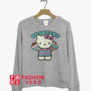 Obsessed Cupcakes Hello Kitty Sweatshirt