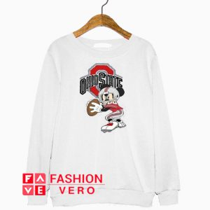 Ohio State Football Mickey Mouse Sweatshirt