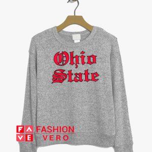 Ohio State Letter Sweatshirt