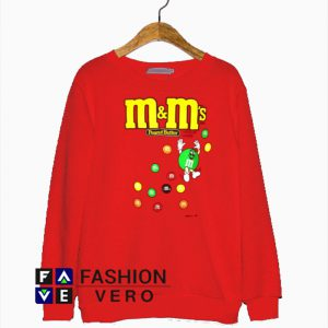 Peanut Butter M&Ms Chocolate Candies Sweatshirt