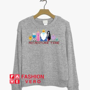 Pixel Adventure Time Sweatshirt