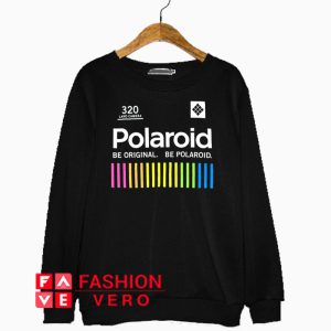Polaroid Land Camera Multi Color Sweatshirt
