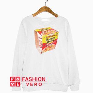 Ramen Noodle Instant Lunch Sweatshirt