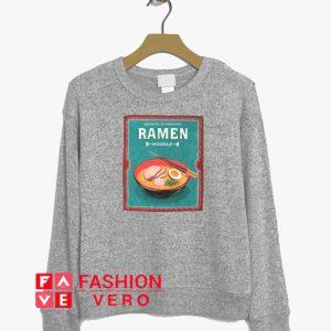 Ramen Noodle Soup Sweatshirt