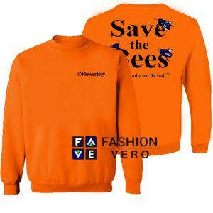 Save The Bees Flower Boy Sweatshirt