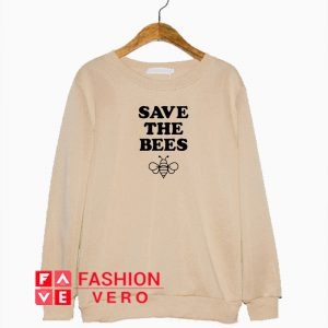 Save the Bees Logo Sweatshirt