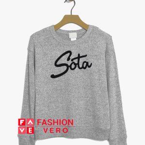 Sota Letter Sweatshirt