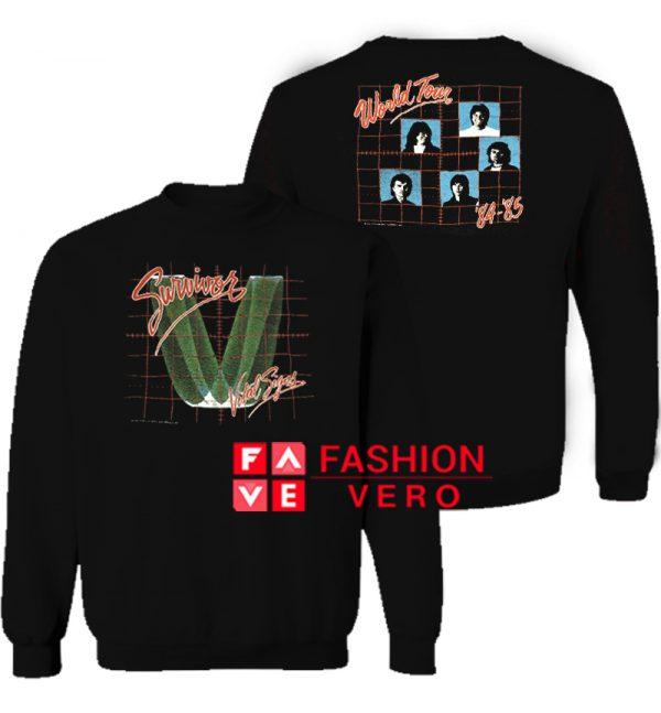 Survivor Vital Signs World Tour 1984 1985 Sweatshirt