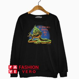 The Grinch Had A Wonderful Awful Idea Sweatshirt