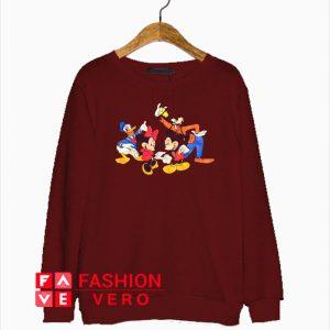 Vintage Mickey And Gang Sweatshirt