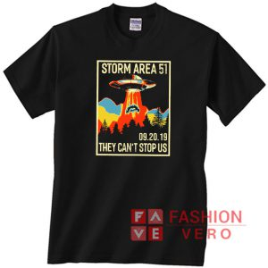 09 20 2019 Area 51 Storm Unisex adult T shirt