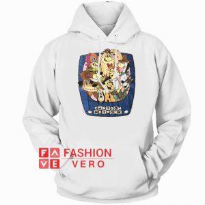 1993 Vintage Cartoon Network Hoodie - Unisex Adult Clothing