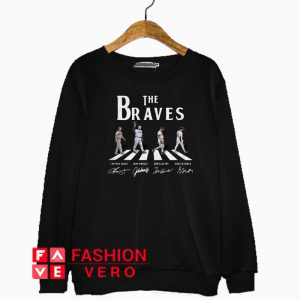 Abbey Road The Braves signature Sweatshirt