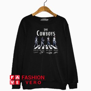 Abbey Road The Cowboys signature Sweatshirt