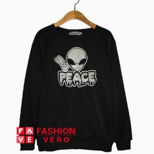 Alien Peace Sweatshirt