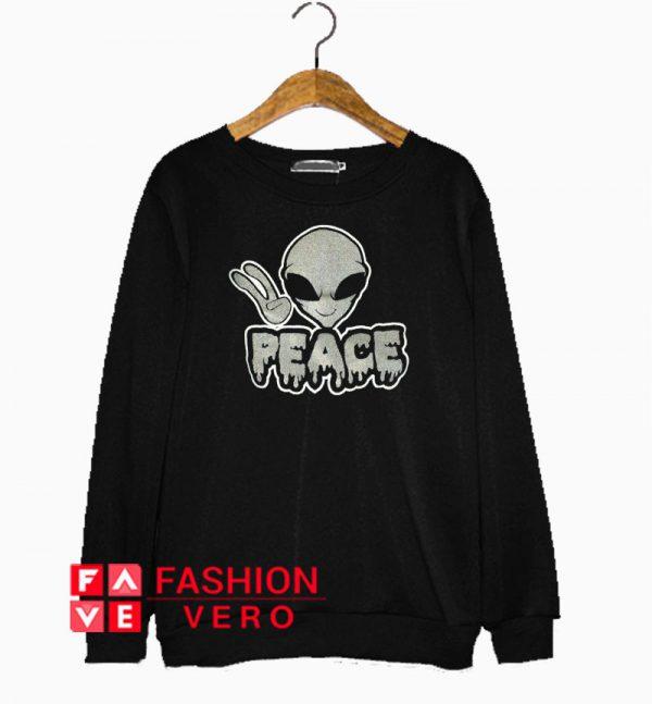 Alien Peace Sweatshirt