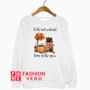 Pug And Pumpkin Time Of The Year Sweatshirt