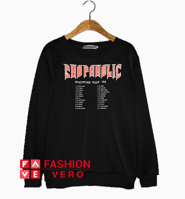 Shopaholic Sweatshirt