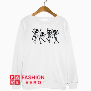 Skeleton Halloween Dance Sweatshirt
