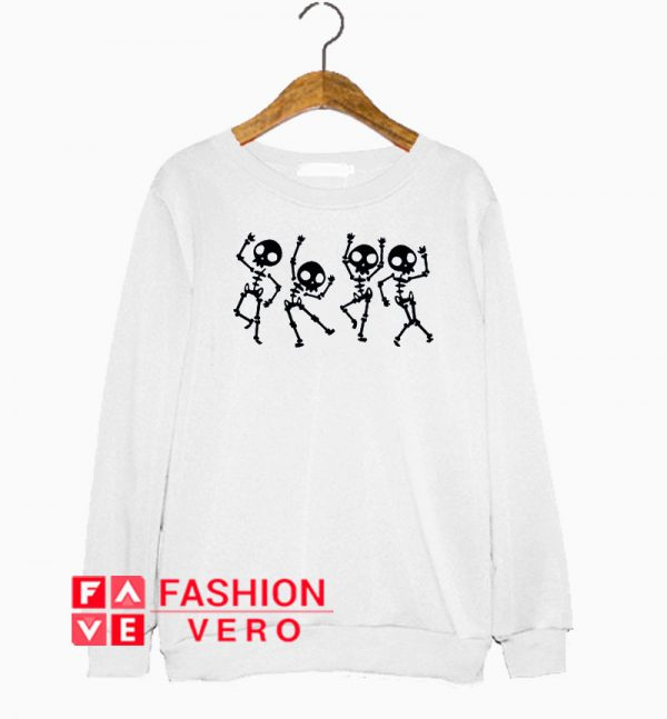 Skeleton Halloween Dance Sweatshirt
