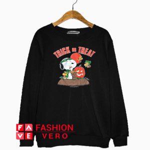 Snoopy Halloween Trick Or Treat Sweatshirt