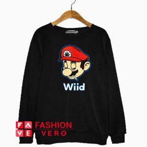 Super Mario Wiid Sweatshirt