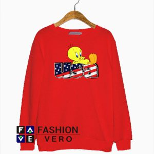 Tweety Bird USA Sweatshirt
