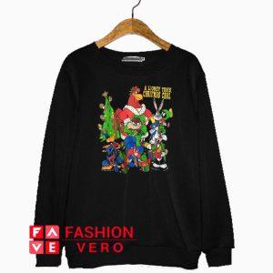 A Looney Tunes Christmas Carol Sweatshirt
