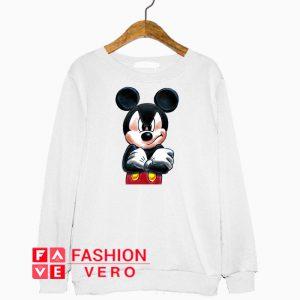 Angry Mickey Mouse Sweatshirt