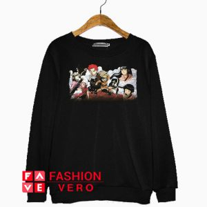 Anime Naruto Group Sweatshirt