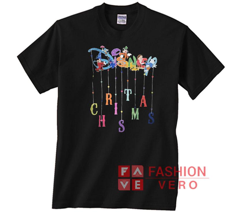 Disney Christmas Shirt Designs.Disney Christmas Unisex Adult T Shirt