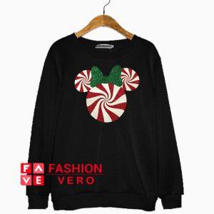 Minnie Mouse Christmas Peppermint Sweatshirt
