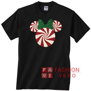 Minnie Mouse Christmas Peppermint Unisex adult T shirt