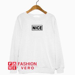 Nice Logo Sweatshirt