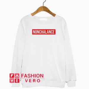 Nonchalance Box Logo Sweatshirt