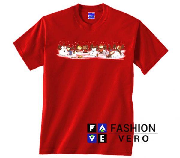 Peanuts Charlie Brown Christmas Unisex adult T shirt