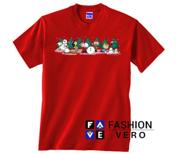 Peanuts Christmas Unisex adult T shirt