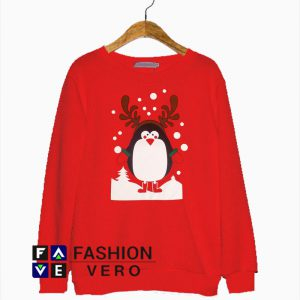 Penguin Christmas Sweatshirt