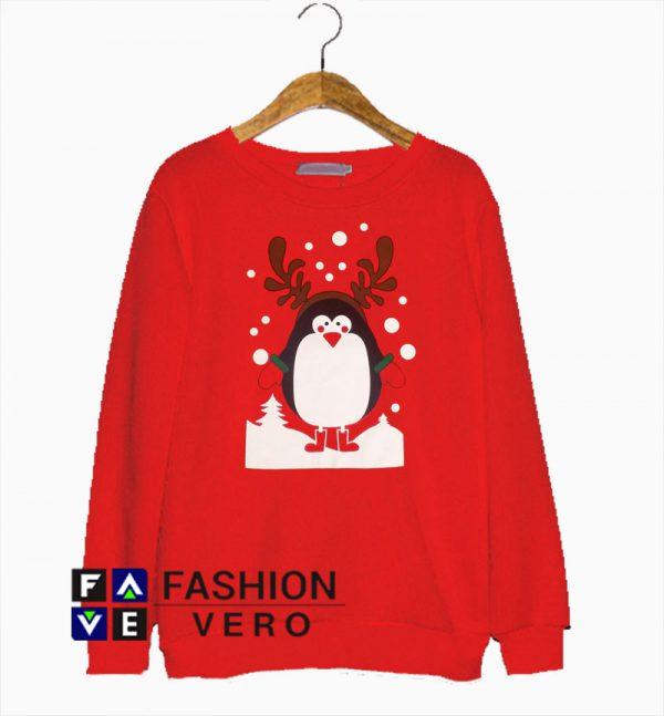 Penguin Christmas Sweatshirt
